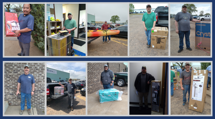 """Winners of the """"Spring into Greatness"""" Contest: Eau Claire, WI Facility"""